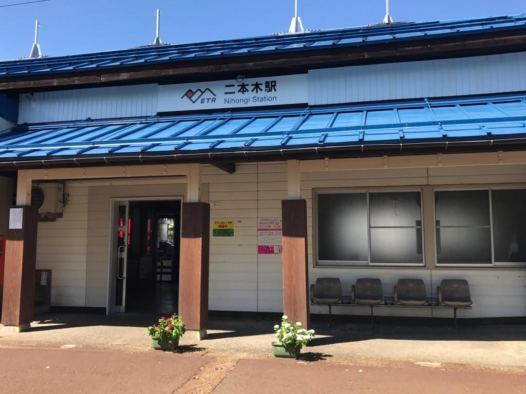 えちごトキめき鉄道 二本木駅 駅舎