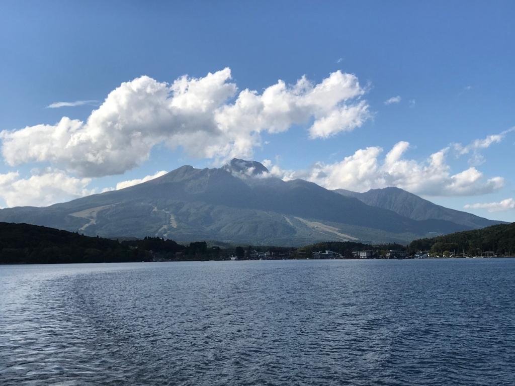 2017年9月末 野尻湖