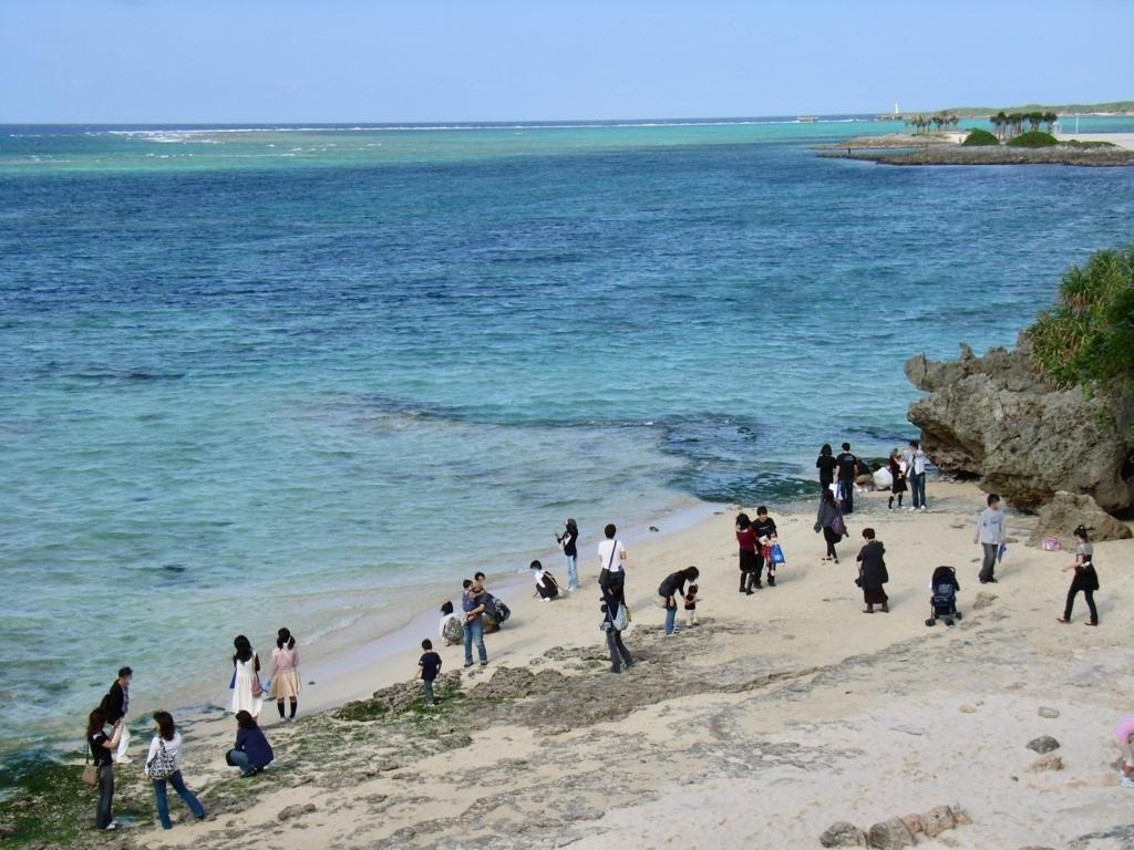 「沖縄美ら海水族館」館外 海岸