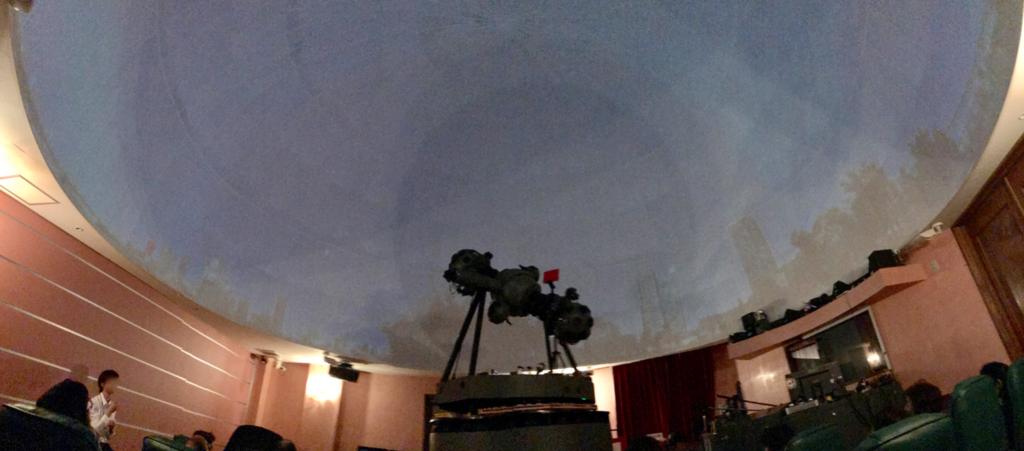 葛飾区 證願寺 「プラネターリウム銀河座」 投影室