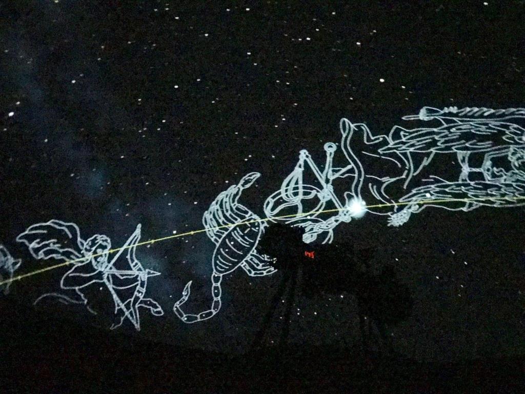 葛飾区 證願寺 「プラネターリウム銀河座」 星座