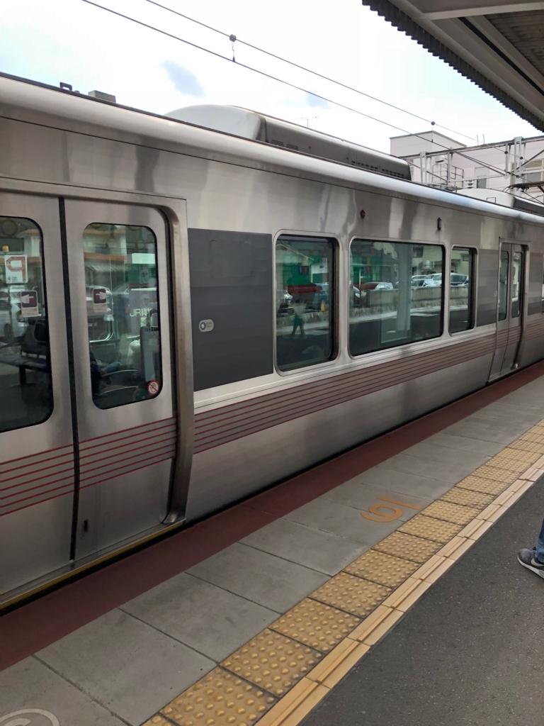 広島県 JR山陽線 宮島口駅にて
