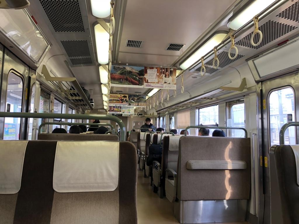 広島駅から三原駅まで山陽本線在来線乗車
