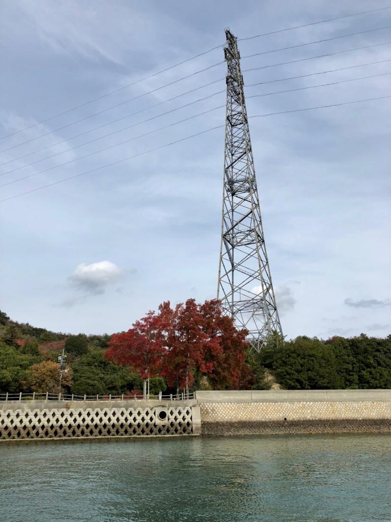 広島県 うさぎ島(大久野島)鉄塔