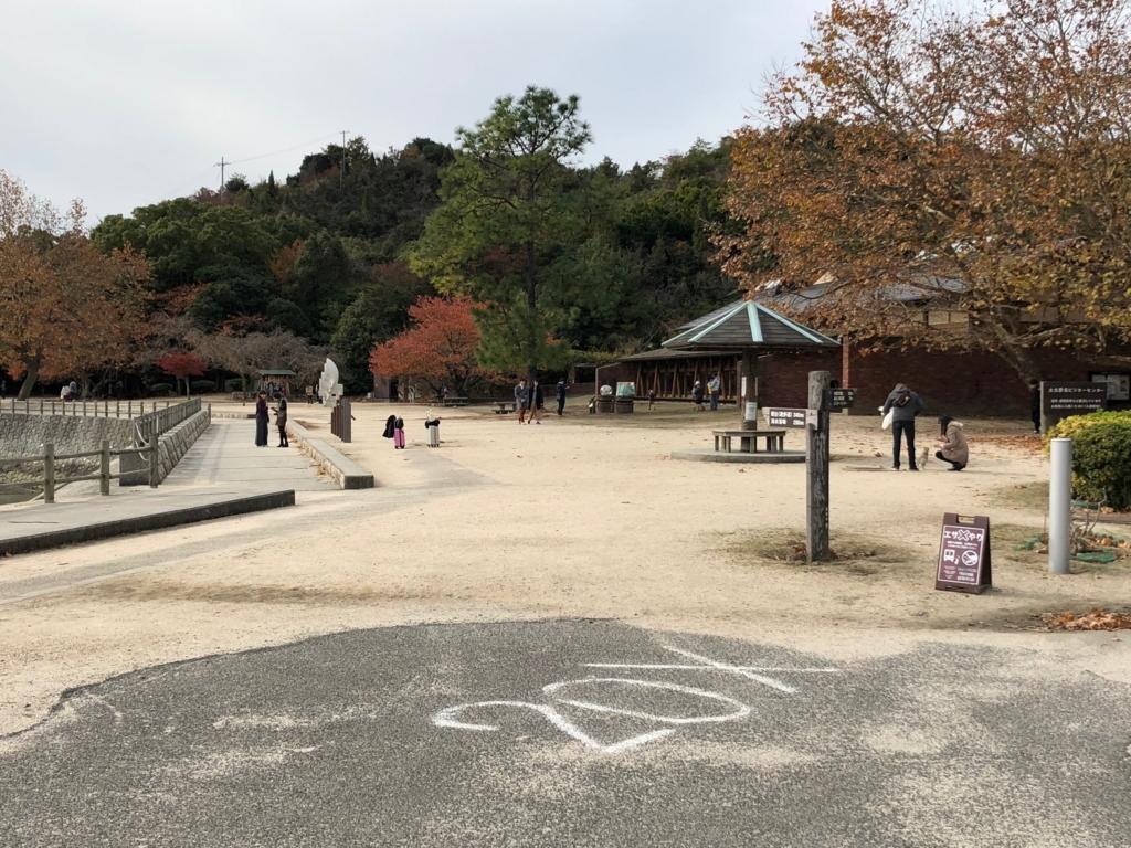 広島県 大久野島(うさぎ島)マップ ビジターセンター周辺