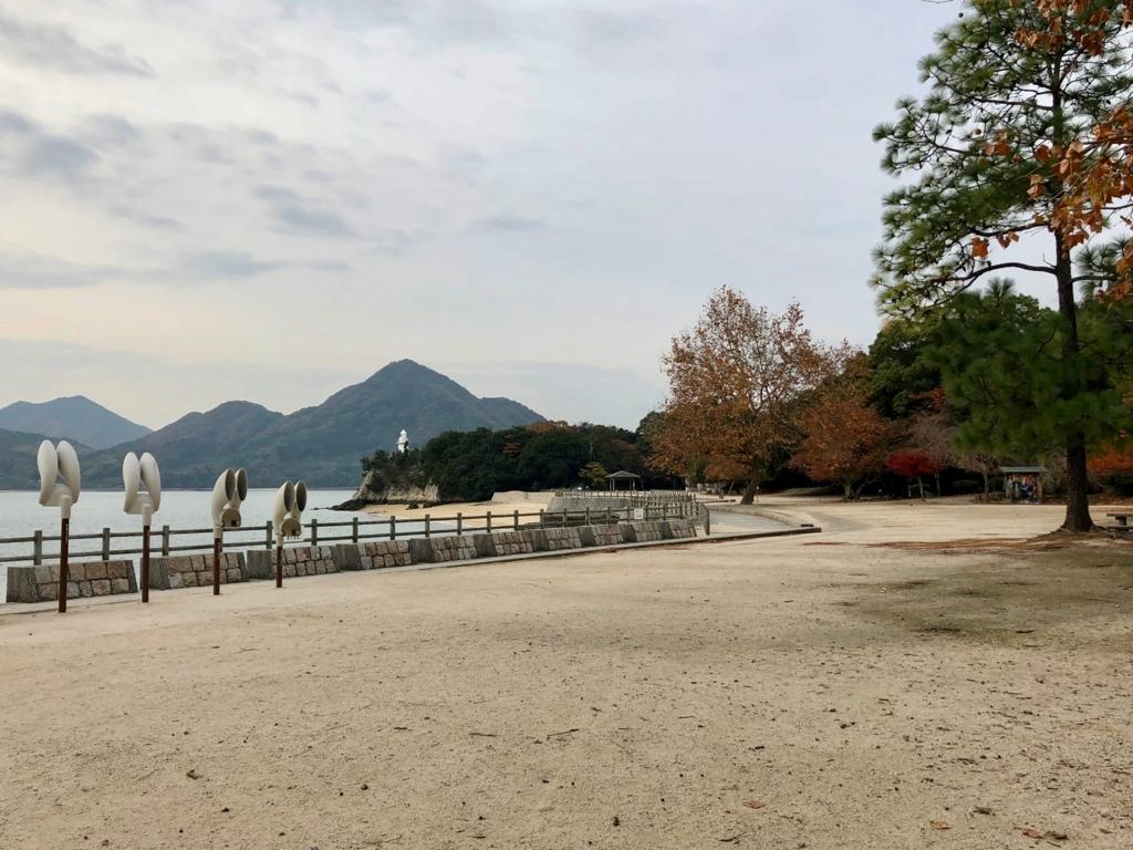 2017年11月連休後半 うさぎ島(大久野島)