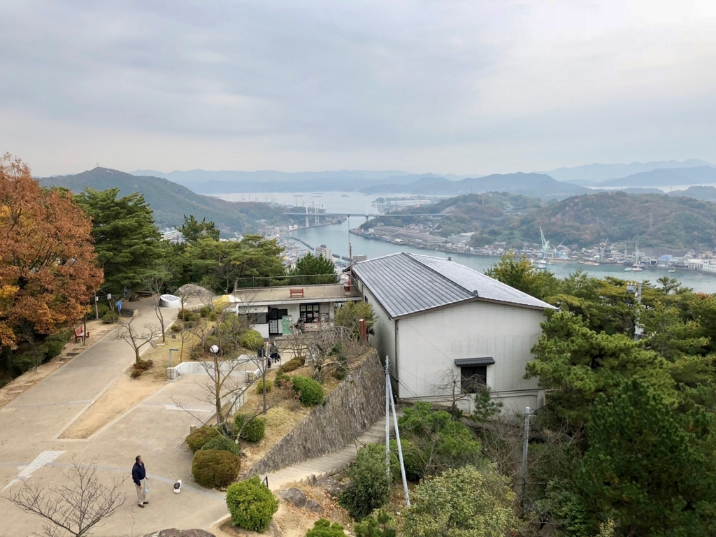 広島県 千光寺公園 展望台より 「新尾道大橋」