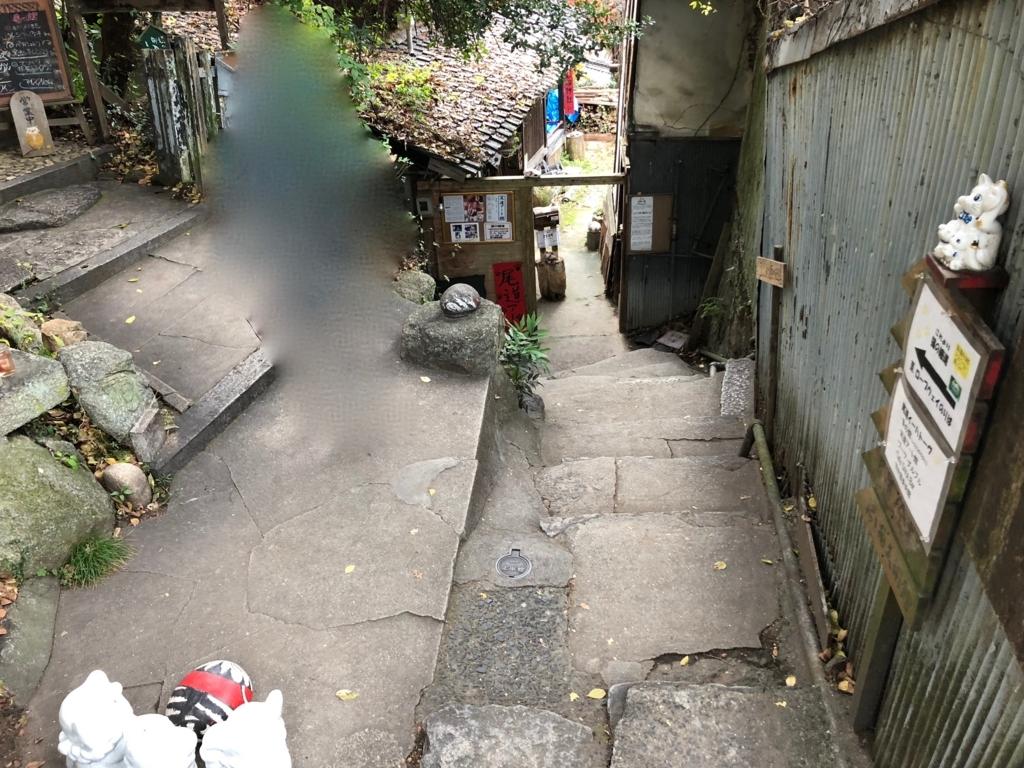 広島県 尾道 「猫の細道」 「梟の館」付近