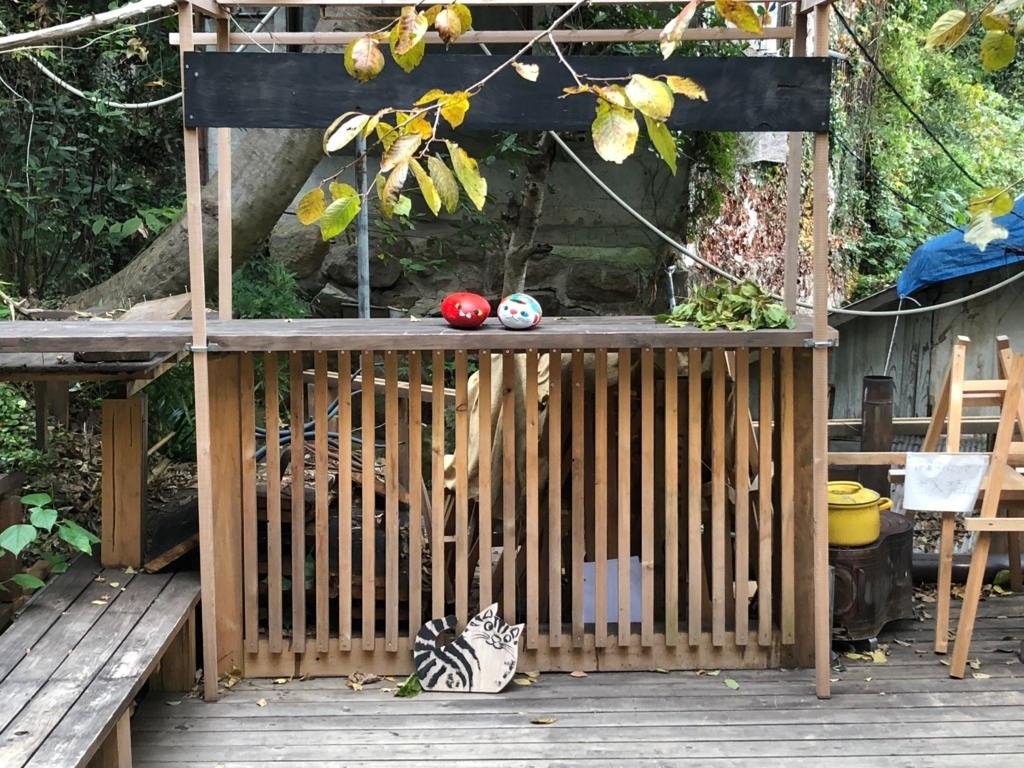 広島県 尾道 「猫の細道」途中の広い空間 福石猫