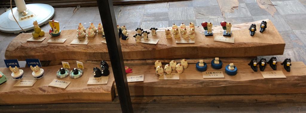 広島県 尾道 「猫の細道」ねこ雑貨のお店 「Le chat」 小さな猫雑貨