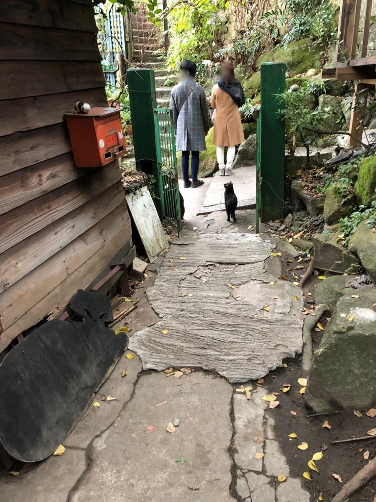 広島県 尾道 「猫の細道」ねこ雑貨のお店 「Le chat」 入り口