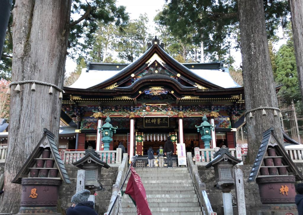 奥秩父 三峰神社 拝殿