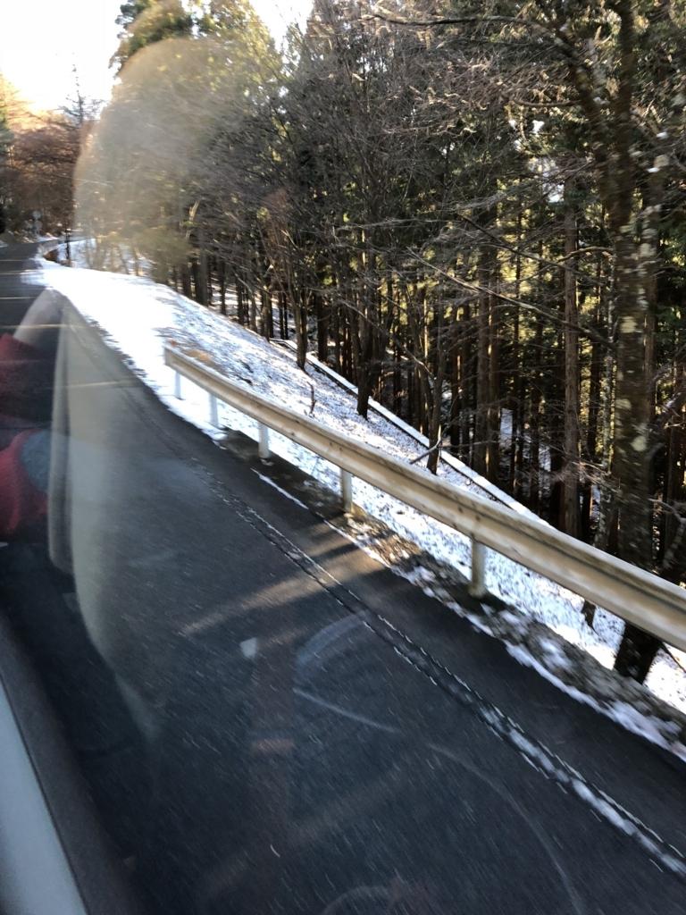 奥秩父「三峰神社」までの12月の雪道