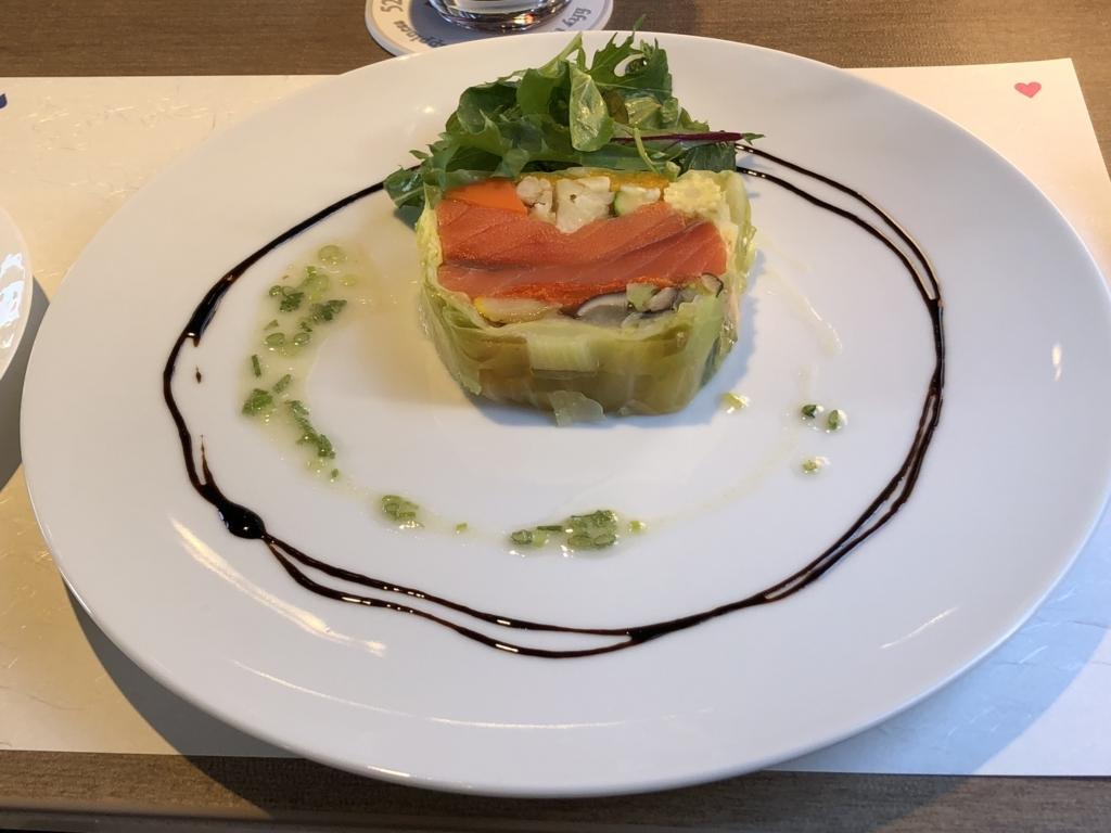 西武鉄道『西武 旅するレストラン「52席の至福」』12月ブランチコース 前菜