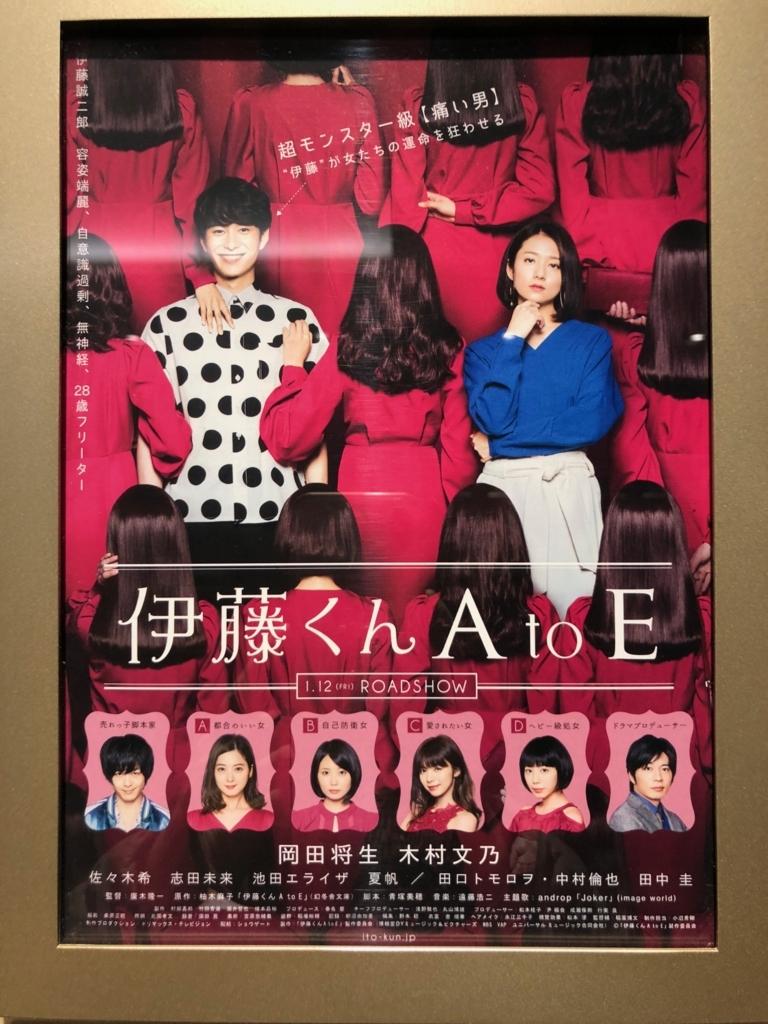 「伊藤くん A to E」ポスター