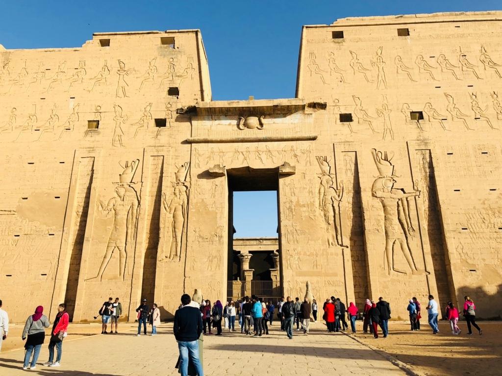 エジプト エドフ神殿