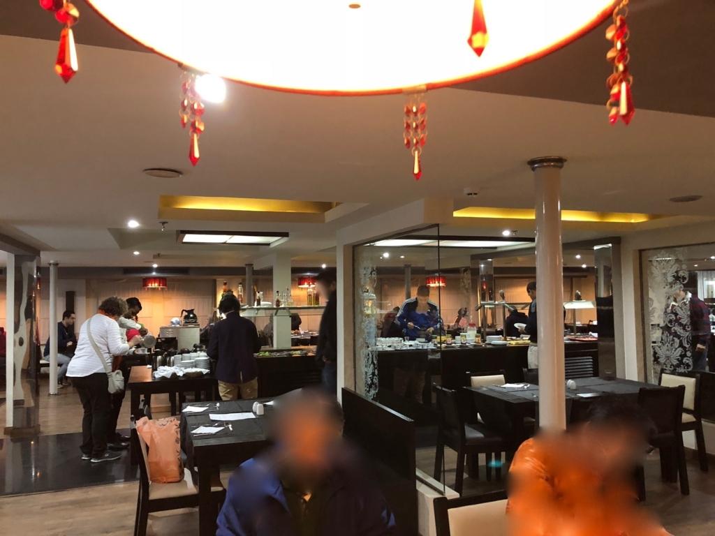 エジプト ナイル川クルーズ船 MS/PREMIUM 1階レストラン
