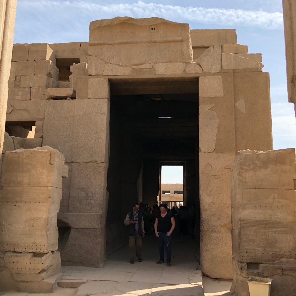 エジプト ルクソール カルナック神殿複合体 アメン神殿 至聖所