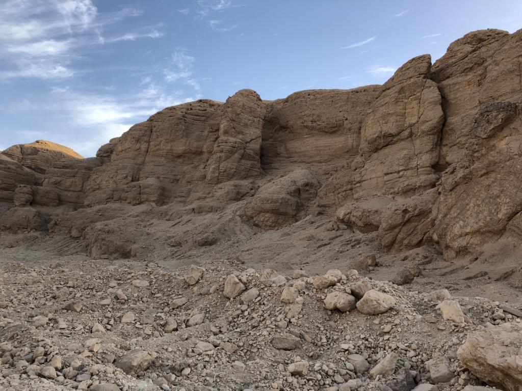 エジプト ルクソール 西岸 王家の谷への道