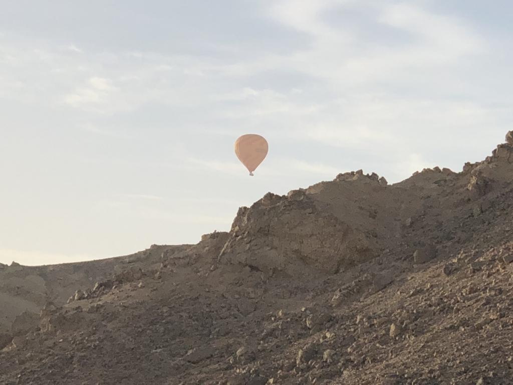エジプト ルクソール 観光 気球