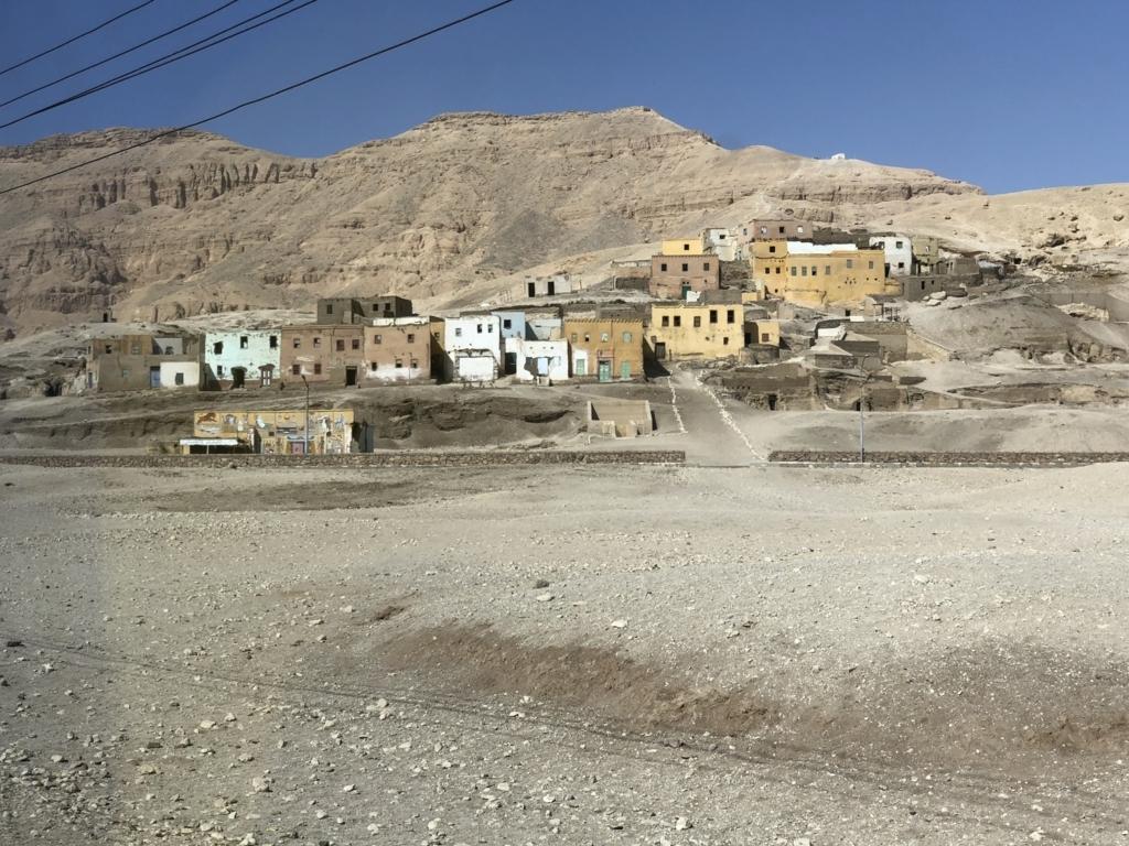 エジプト ルクソール 西岸 クルナ村