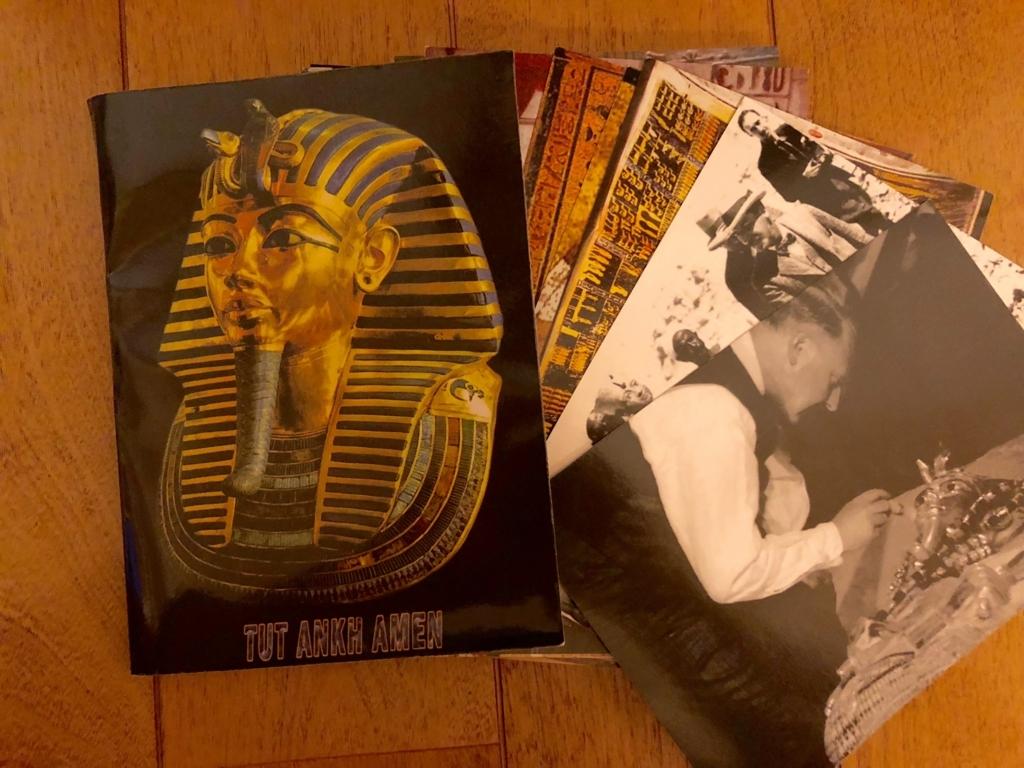 エジプト ルクソール 西岸 「王家の谷」で購入の絵葉書