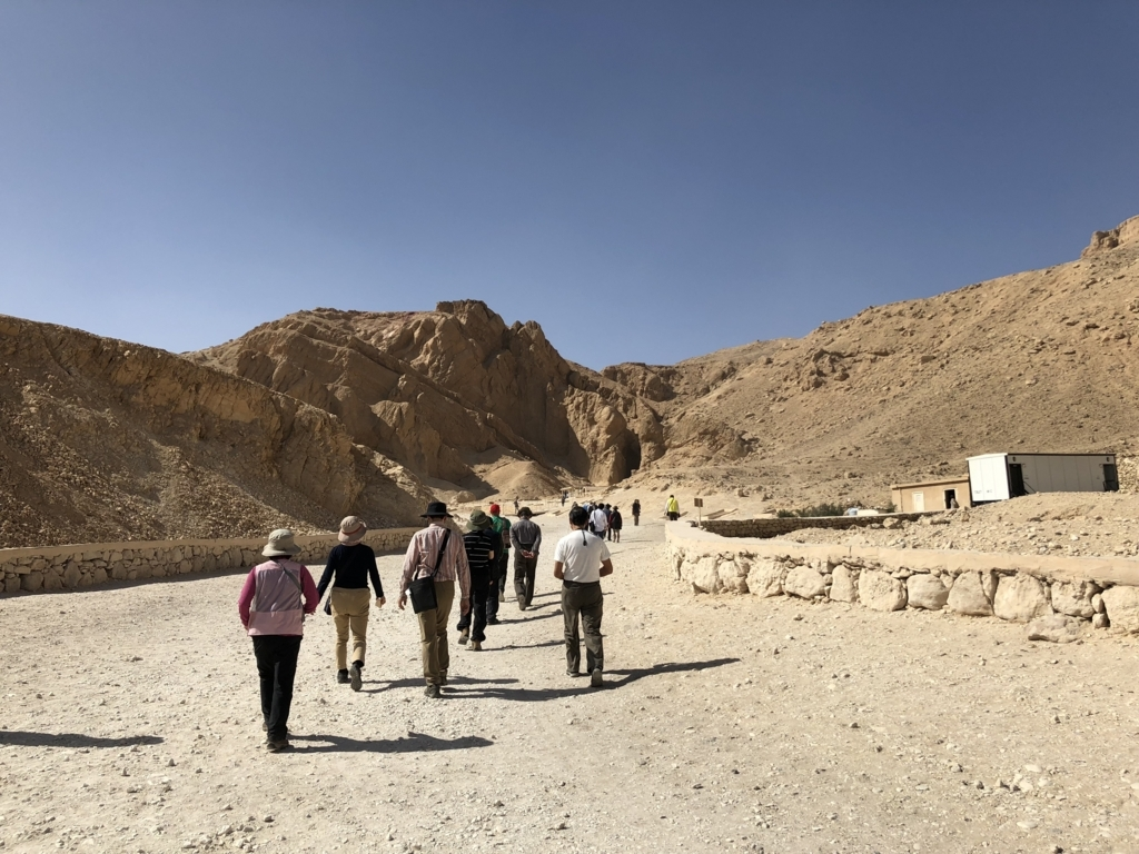 エジプト ルクソール 西岸 「王妃の谷」入り口