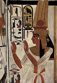 エジプト ルクソール 西岸 王妃の谷「ネフェルタリの墓」byja.wikipedia.org
