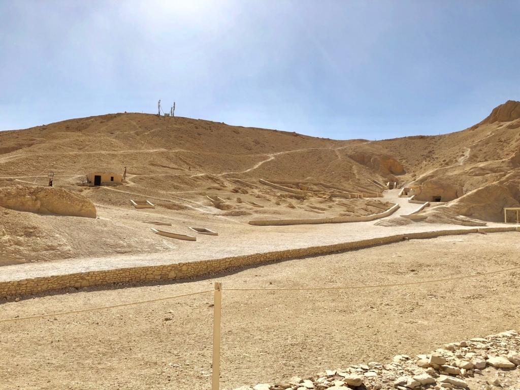 エジプト ルクソール 西岸 「王妃の谷」