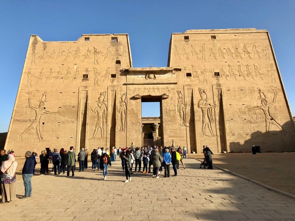 エジプト エドフ ホルス神殿(エドフ神殿)