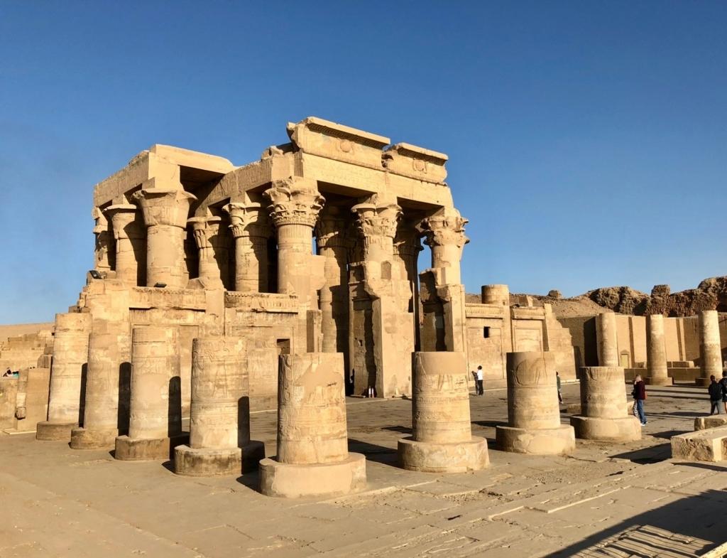 エジプト コムオンボ「コムオンボ神殿」