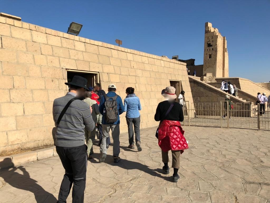 エジプト コムオンボ 「コムオンボ神殿」ビジターセンター