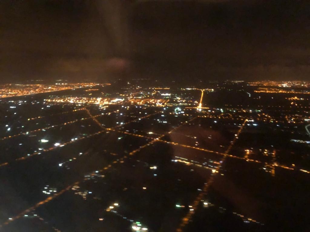 エジプト アスワン-カイロ空港 エジプト航空 MS398便 カイロ到着