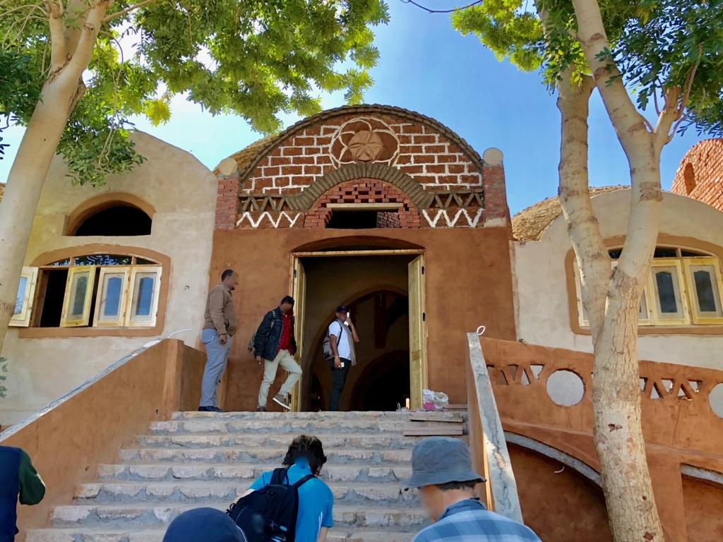 エジプト ナセル湖畔 「Eskaleh Nubian Ecolodge」