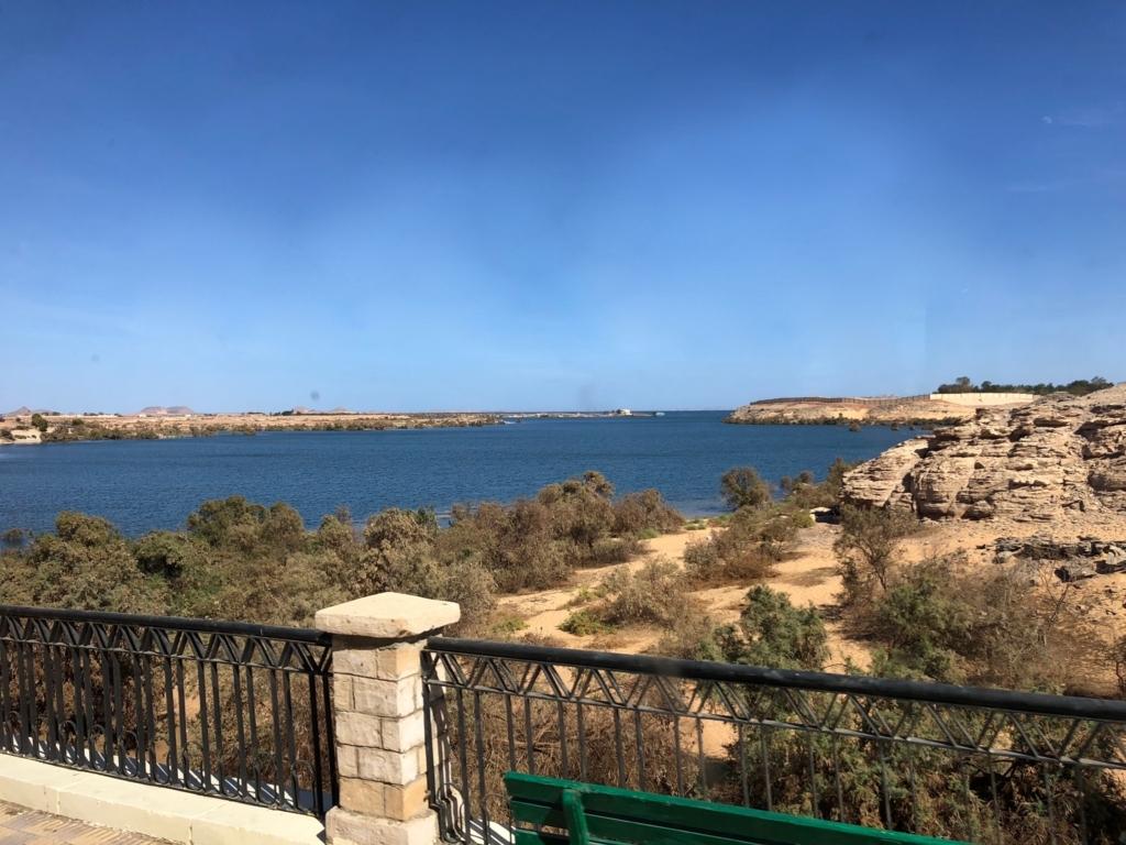 エジプト 南部 人造湖 ナセル湖