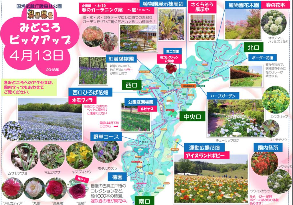 「国営武蔵丘陵森林公園」2018年春のみどころ by www.shinrinkoen.jp