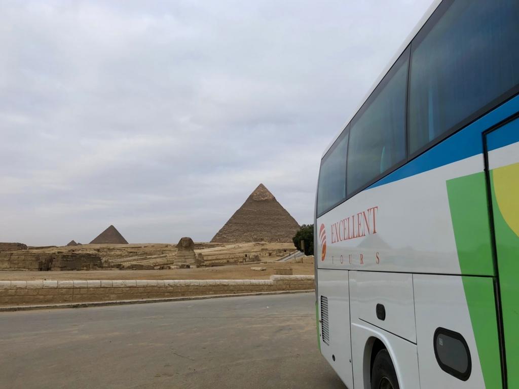エジプト ギザ 3大ピラミッド 大満喫の朝日鑑賞でした