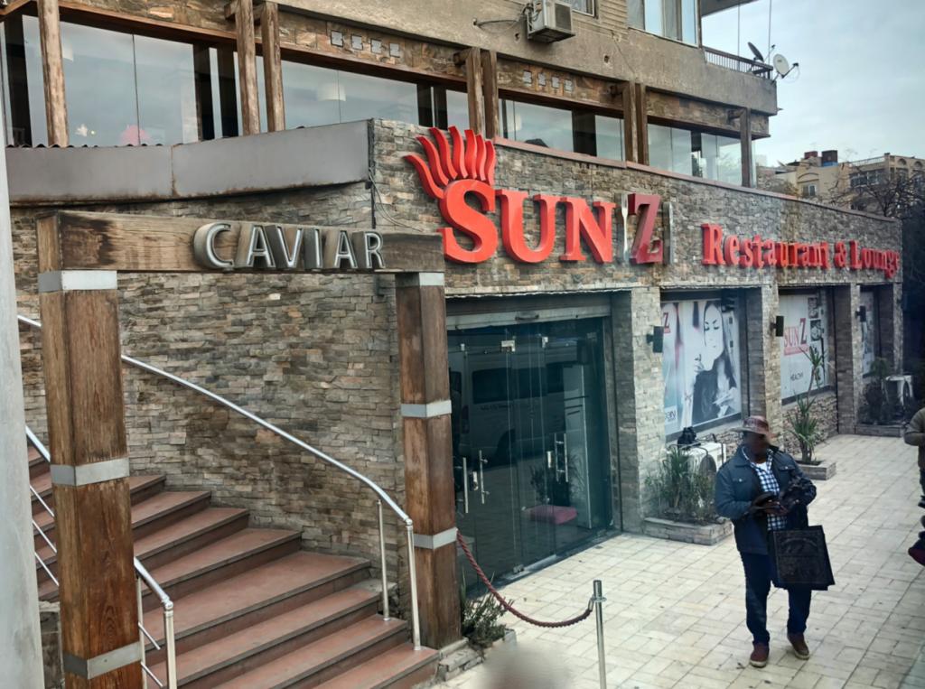 エジプト ギザ 「Sun Z Restaurant and Lounge」