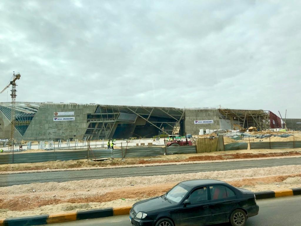 エジプト ギザ 建設中「大エジプト博物館」