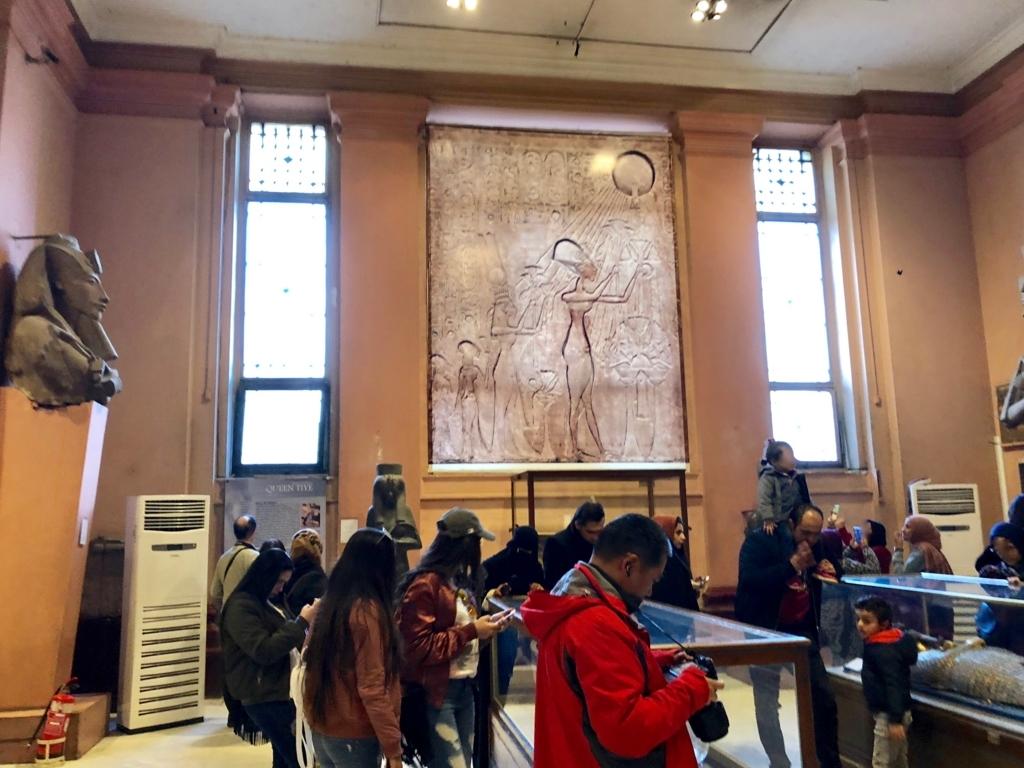 エジプト カイロ 「エジプト考古学博物館」 アクエンアテン王 エリア