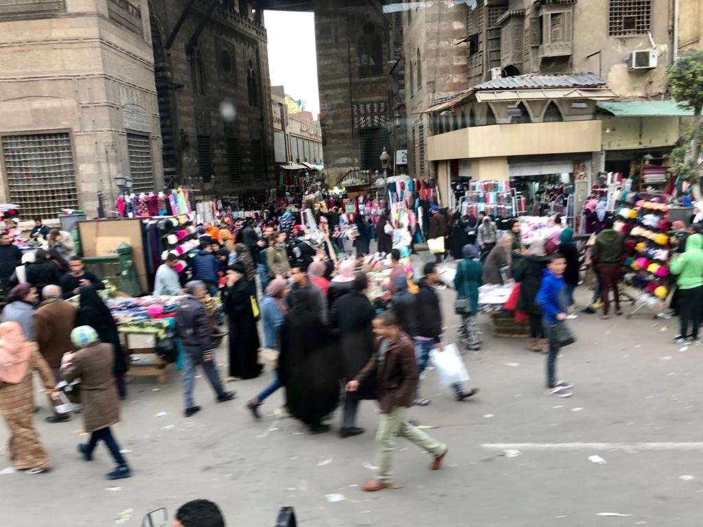 エジプト カイロ市内 喧騒