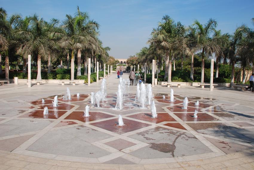 エジプト カイロ アズハルパーク 噴水 by www.azharpark.com