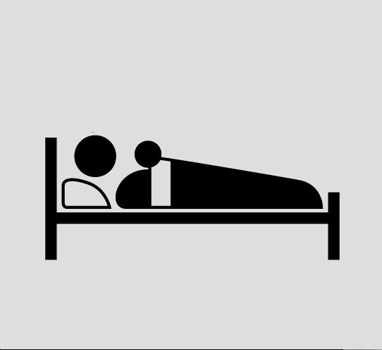 寝るのにも一工夫