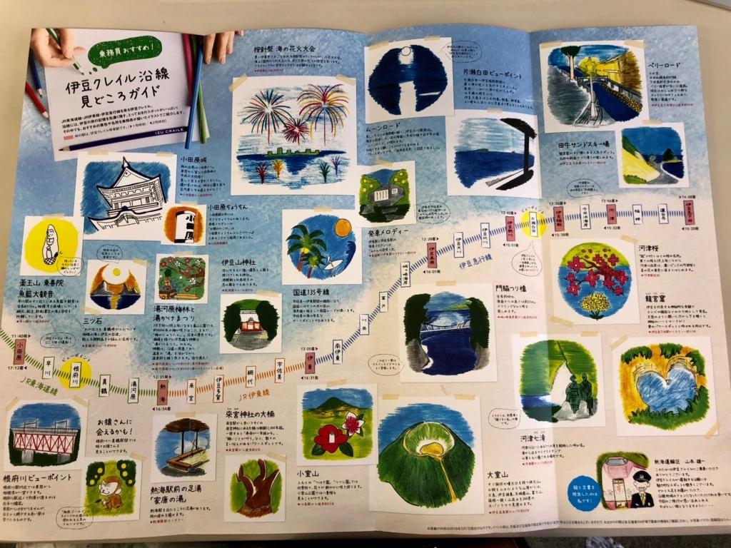 リゾート列車「伊豆クレイル IZU CRAILE」沿線 見どころガイド