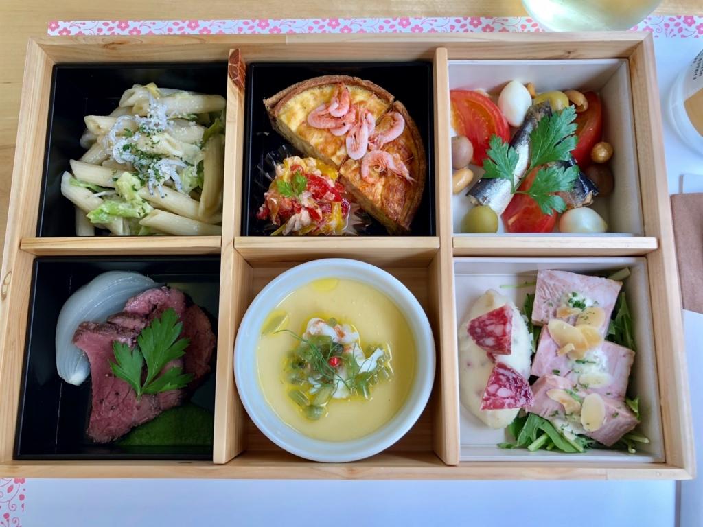リゾート列車「伊豆クレイル IZU CRAILE」1号 ランチボックス お料理