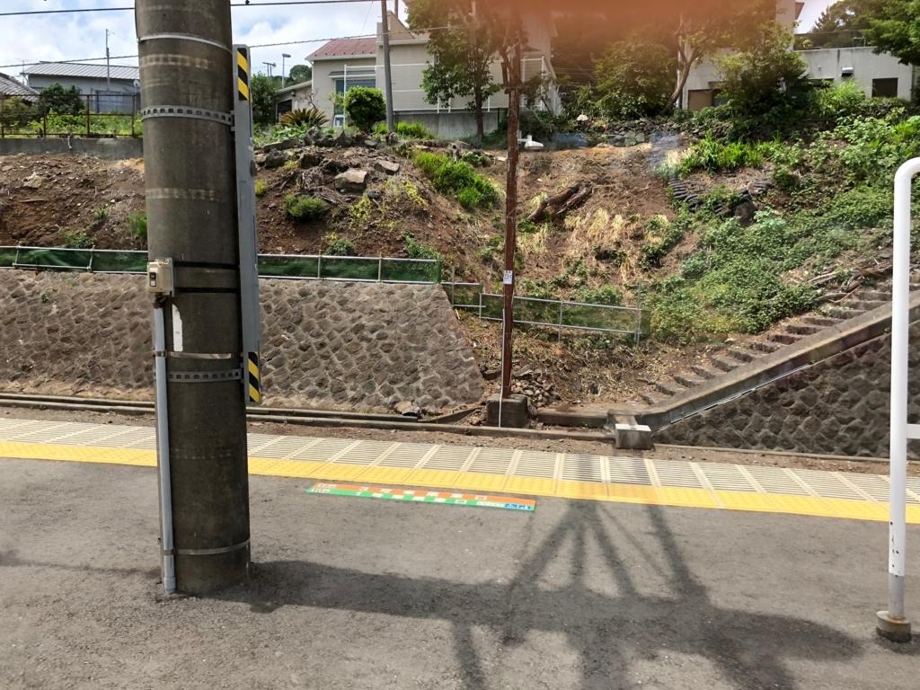 リゾート列車「伊豆クレイル IZU CRAILE」1号乗車中 根府川駅での長い停