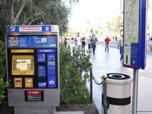 ラスベガス バス停に設置の券売機 by www.lvtaizen.com