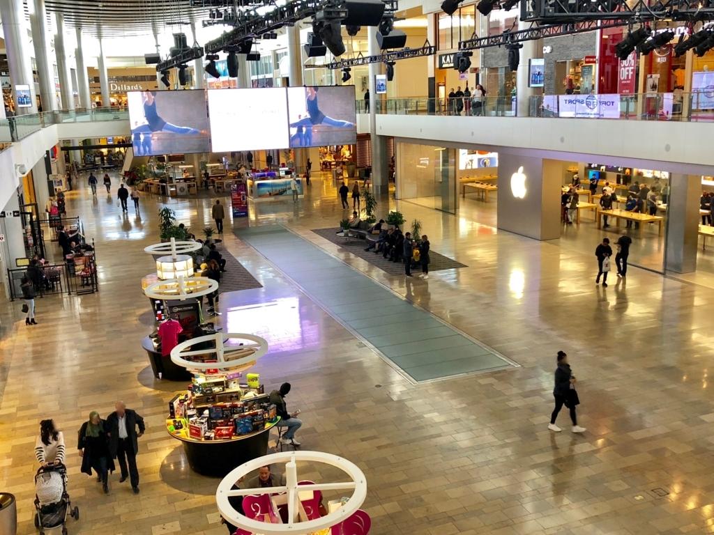 2018年2月 ラスベガス Fashion Show Mall