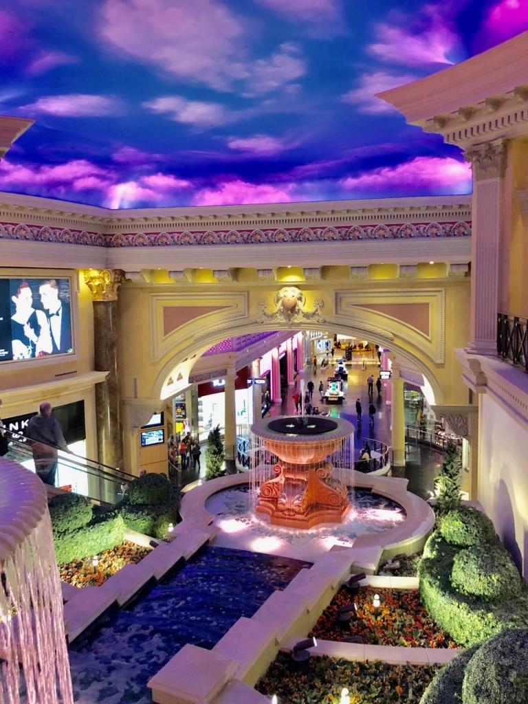 2018年2月 ラスベガス The Forum Shops at Caesars Palace