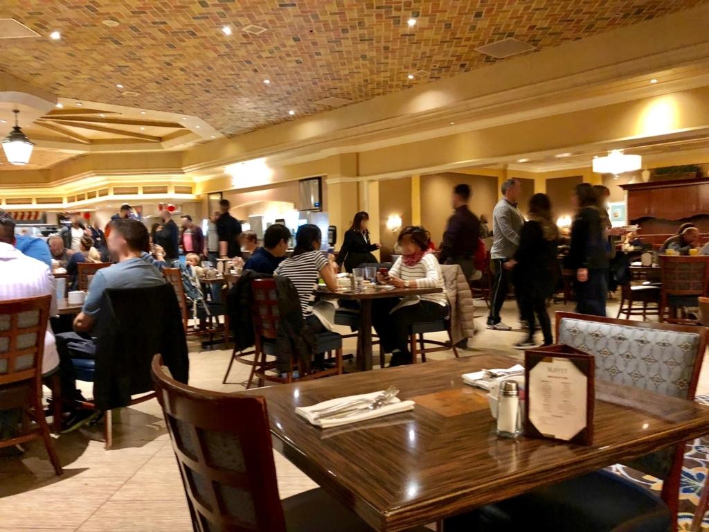 2018年2月 ラスベガス ベッラシオホテル 朝食バフェ
